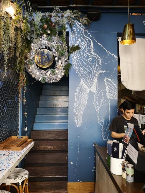 bluewhalecafe05 Bangkok-Blue Whale Cafe大海FU藍鯨悠遊 曼谷網紅咖啡館