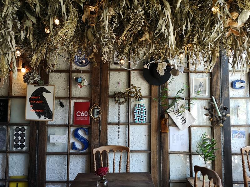 floralcafebkk170113 Bangkok-Floral Cafe at Napasorn曼谷花市旁滿滿花香古物的咖啡館