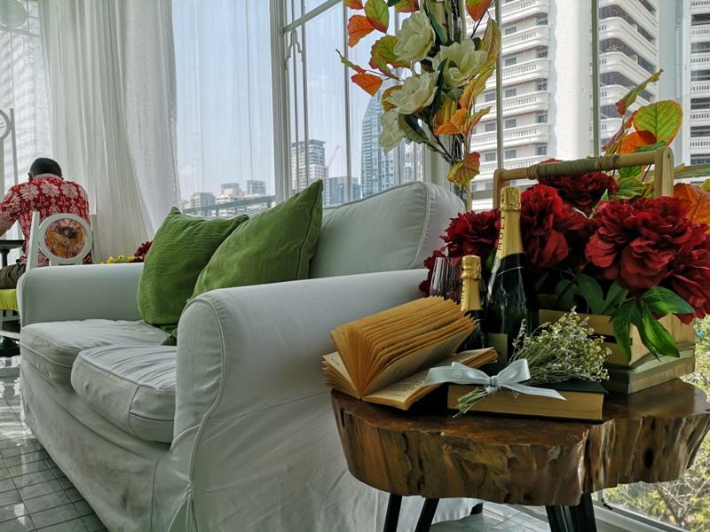 organikahouse15 Bangkok-Organika House (Spa & Cafe)純白青綠無敵浪漫 曼谷網美咖啡館
