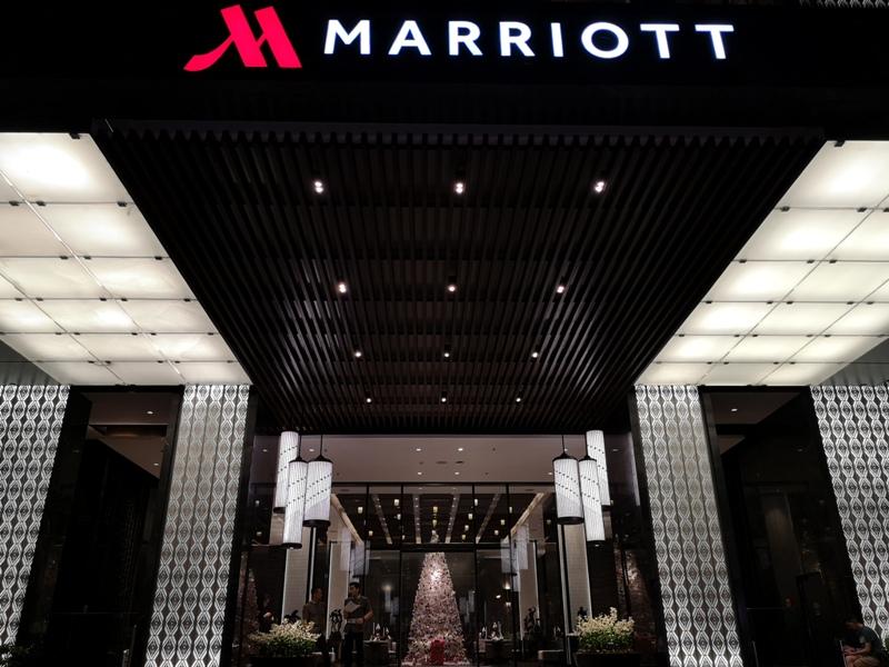 surawongse4 Bangkok-曼谷Marriott Hotel The Surawongse太超值...完美住宿大套房網美游池