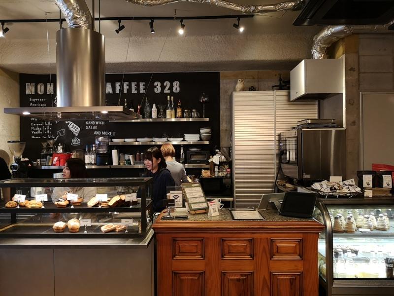 mondialcoffee04 Osaka-Mondial Kaffee大阪難波附近美式復古風咖啡館 果真冠軍的拉花啊