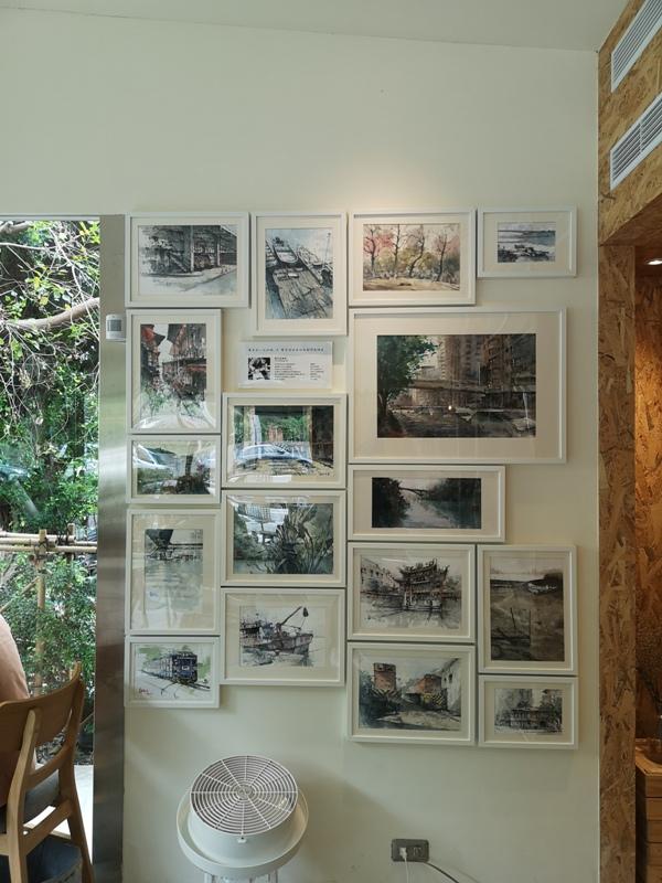 zhaicoffee13 竹北-宅咖啡過日子 滿室綠意玻璃屋概念