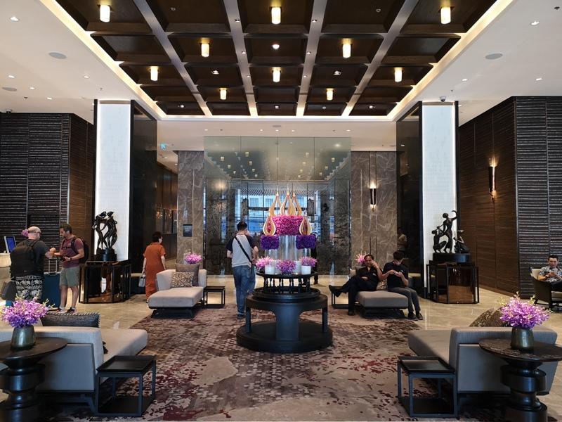 surawongselobby01 Bangkok-曼谷Marriott Hotel The Surawongse太超值...完美住宿大套房網美游池