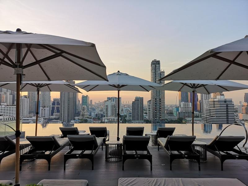 surawongsepool0105 Bangkok-曼谷Marriott Hotel The Surawongse太超值...完美住宿大套房網美游池
