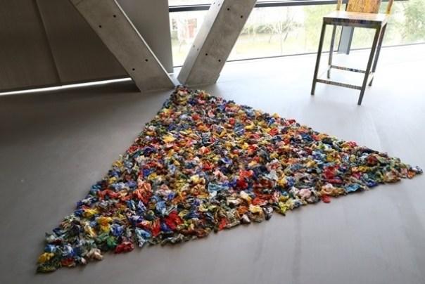 Ando18 霧峰-亞洲現代美術館(亞洲大學內) 大師就是大師 安藤忠雄 清水模三角形與光 大破大立展覽吸引人