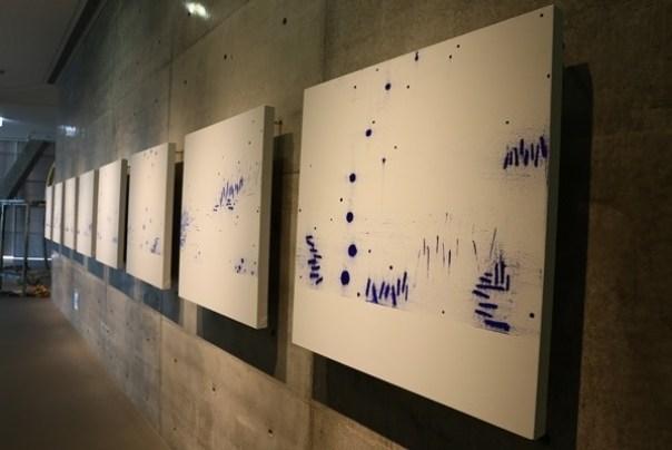Ando20 霧峰-亞洲現代美術館(亞洲大學內) 大師就是大師 安藤忠雄 清水模三角形與光 大破大立展覽吸引人