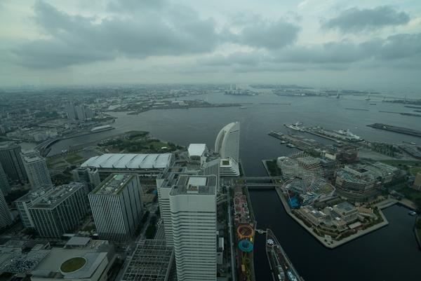 DSC05208 Yokohama-來地標Landmark大樓 賞橫濱港夜景