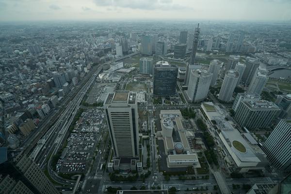DSC05209 Yokohama-來地標Landmark大樓 賞橫濱港夜景