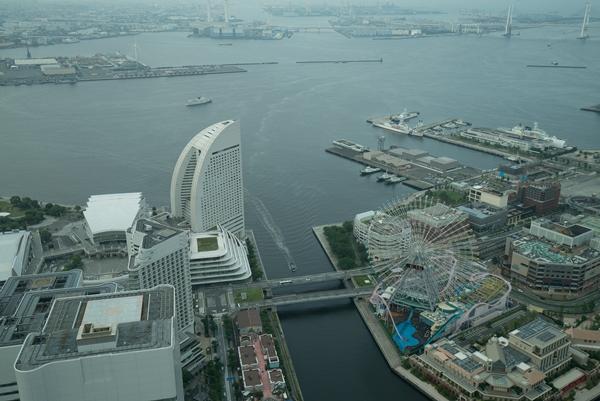 DSC05216 Yokohama-來地標Landmark大樓 賞橫濱港夜景