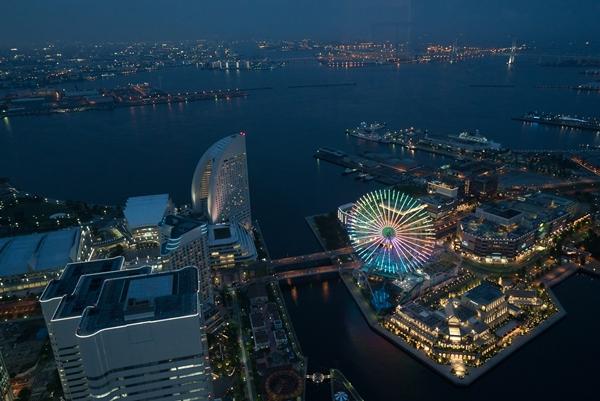 DSC05235 Yokohama-來地標Landmark大樓 賞橫濱港夜景