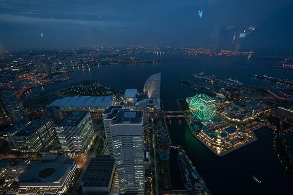 DSC05236 Yokohama-來地標Landmark大樓 賞橫濱港夜景