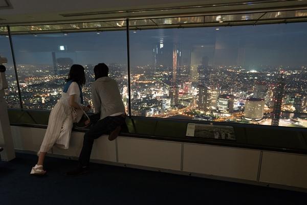 DSC05250 Yokohama-來地標Landmark大樓 賞橫濱港夜景