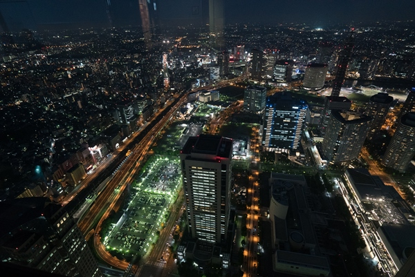 DSC05251 Yokohama-來地標Landmark大樓 賞橫濱港夜景