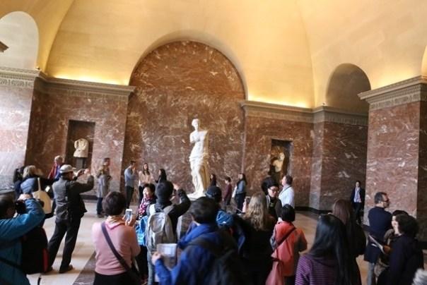 IMG_4429 Paris-巴黎羅浮宮Musee du Louvre 三寶還有勝利女神跟斷臂維納斯
