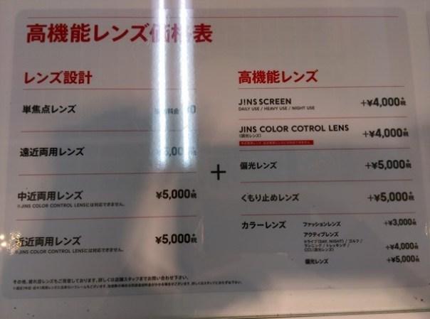 Jins10 Oimachi-JINS東京配眼鏡 便宜快速新體驗