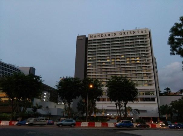 MO01 Singapore-Mandarin Oriental乾淨簡單商務五星級