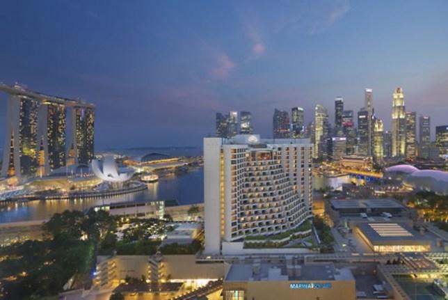 MO23 Singapore-Mandarin Oriental乾淨簡單商務五星級