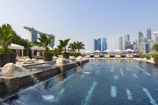 MO24 Singapore-Mandarin Oriental乾淨簡單商務五星級
