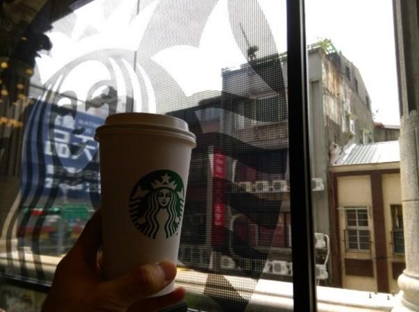 Starbucks20 大同-古蹟遇到星巴克 大稻埕鳳梨大王的家 星巴克保安門市