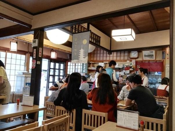 arashiyamalunch2 Kyoto-嵐山丁字屋 觀光勝地方便餐廳 但東西也太太....不怎麼樣....