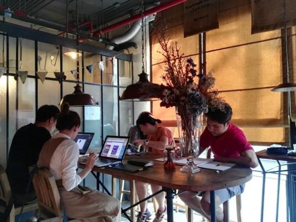 casa06 Bangkok-Casa Lapin曼谷超人氣咖啡廳 熱鬧中帶靜謐的溫暖