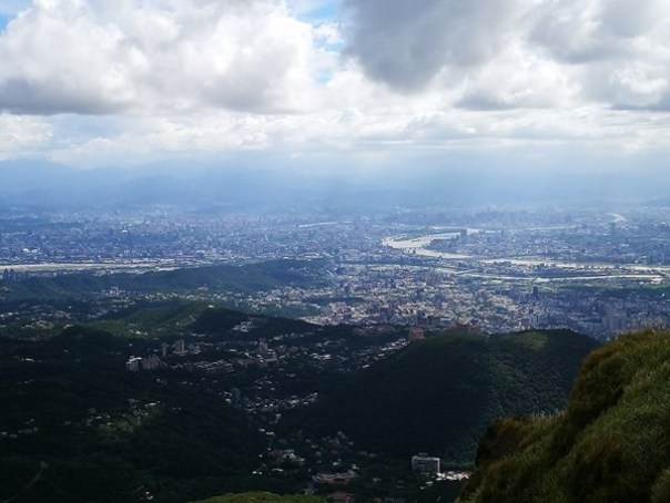 chixinmt11 陽明山-登七星山而小台北 台北第一高峰