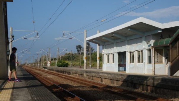dashanstation10 後龍-大山車站 慢遊台鐵海線木造車站