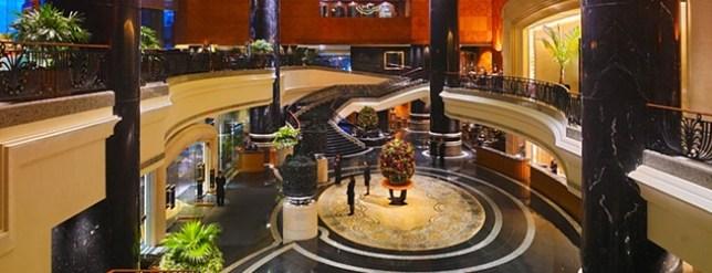 home HK-Grand Hyatt舒服的飯店 五星級香港君悅酒店