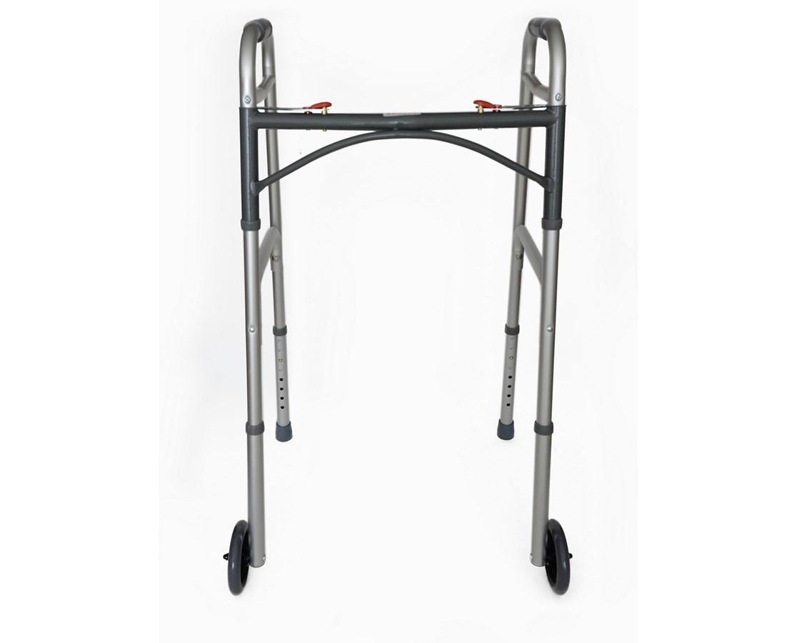 Adirmed Folding Walker With Wheels