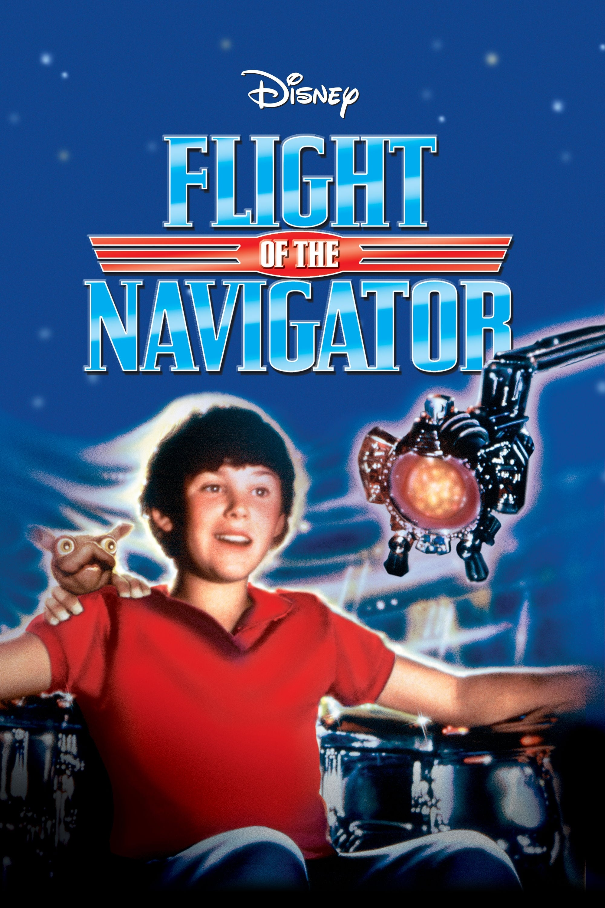 Flight Of The Navigator 1986 Posters The Movie