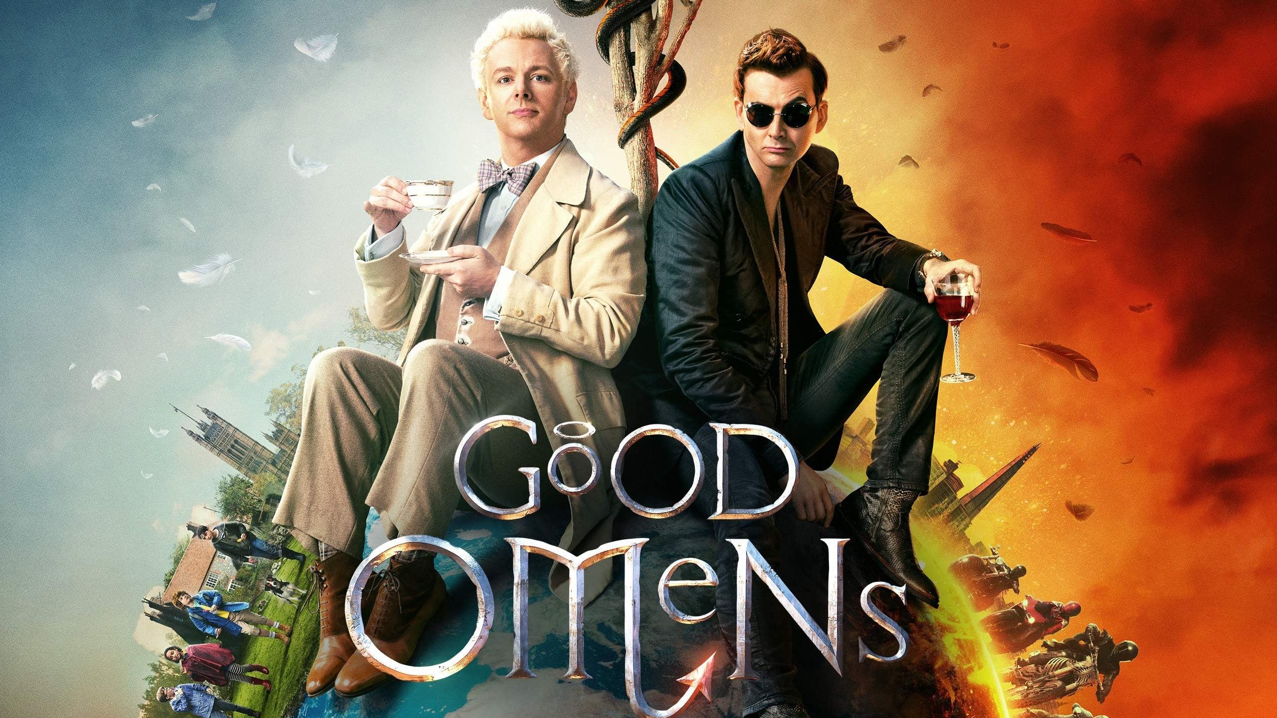 """Résultat de recherche d'images pour """"good omens series"""""""