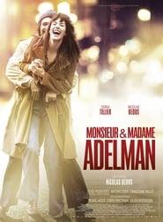 Poster Movie Monsieur & Madame Adelman 2017
