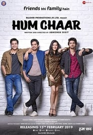 Hum chaar 2019 Hindi Movie WebRip 300mb 480p 1GB 720p