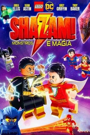 Poster LEGO DC: Shazam - Magia e Monstros HD Online.
