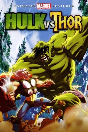 Poster Hulk vs. Thor HD Online.