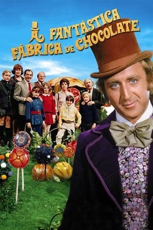 Poster A Fantástica Fábrica de Chocolate HD Online.