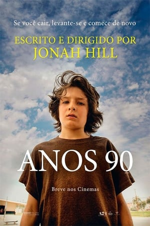 Poster Anos 90 HD Online.