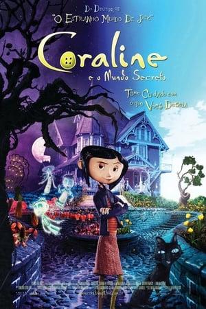 Poster Coraline e o Mundo Secreto HD Online.