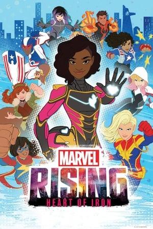 Poster Marvel Rising: Coração de Ferro HD Online.