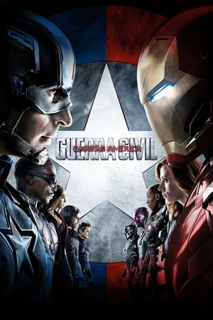Poster Capitão América: Guerra Civil HD Online.