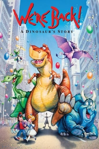 Watch We're Back! A Dinosaur's Story Online