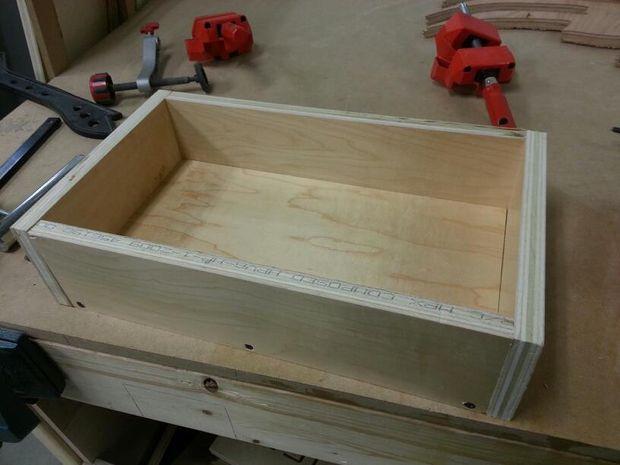 faire une petite boite a outils du bois