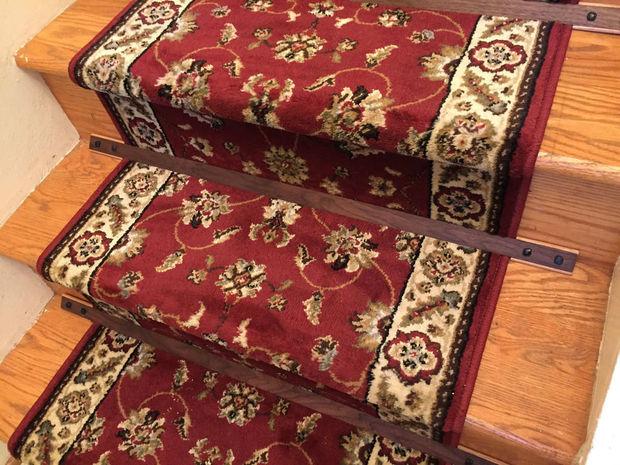 tiges d escalier en bois pour un