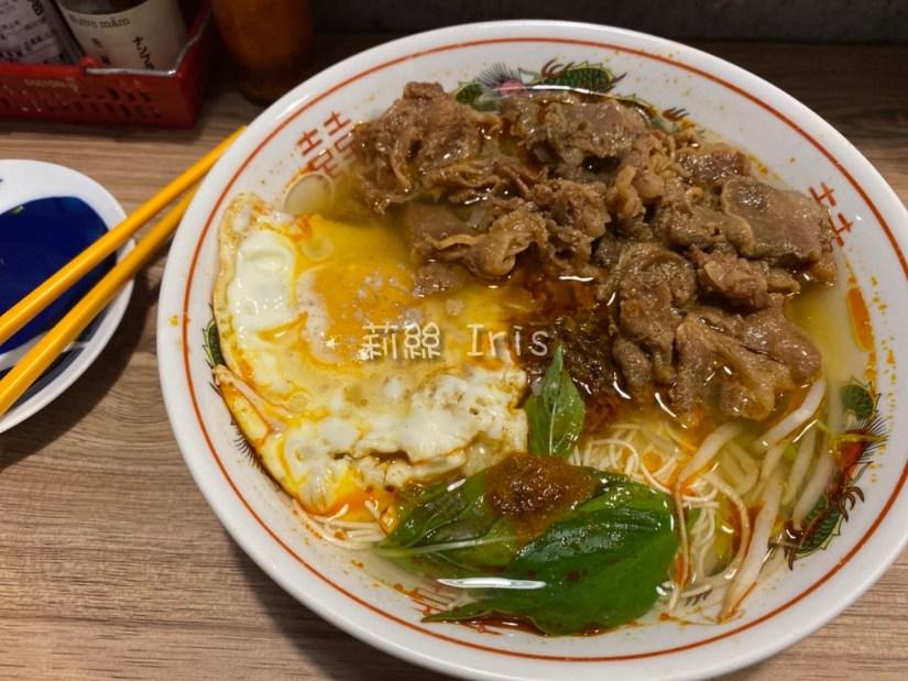 牛肉壽喜豆腐麵