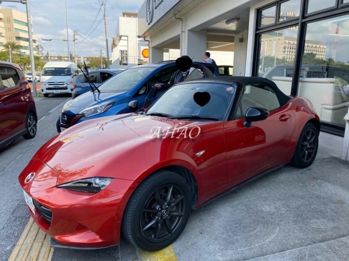 沖繩敞篷車租車分享 新手也可以 Grace okinawa mazda mx5 roadster
