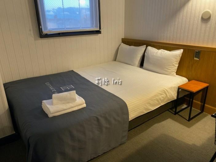 艾斯汀納特酒店小型雙人床