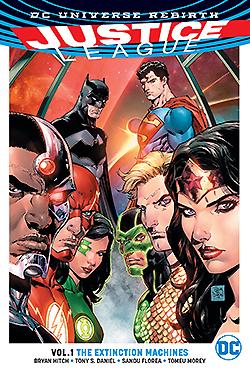 Justice League Rebirth Vol 1