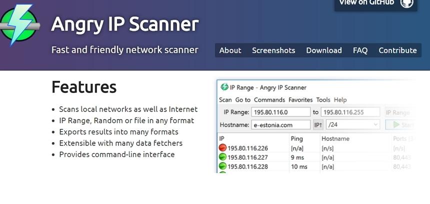 Angry IP Scanner 掃描區網揪出各設備的IP、MAC 與分享埠- 挨踢路人甲