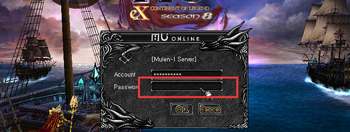 Enter the password!