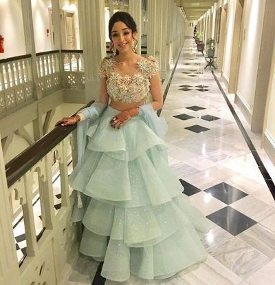 Lehengas With Ruffles is the Next Wedding Trend Which is Here to Stay